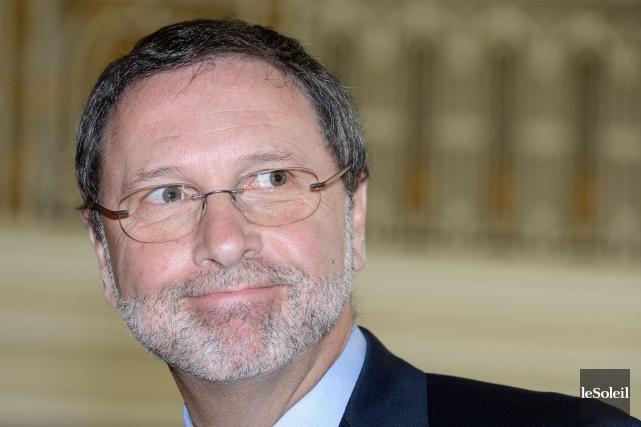 Yves-Thomas Dorval, président-directeur général du Conseil du patronat... (Le Soleil, Jean-Marie Villeneuve)