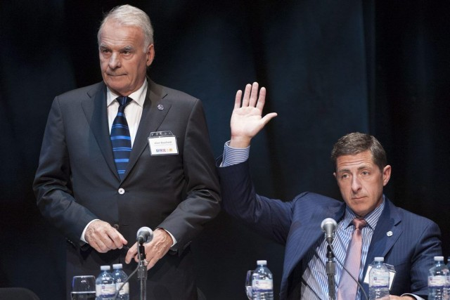 Brian Hannasch, nouveau PDG deCouche-Tard, a levé la... (Photo Hannah Yoon, La Presse Canadienne)