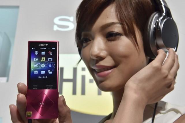La qualité «High-Res Audio» correspond à des formats... (PHOTO YOSHIKAZU TSUNO, AFP)