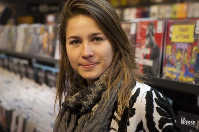 Salomé Leclerc souhaitait que son deuxième album sorte... (Photo: André Pichette, La Presse)