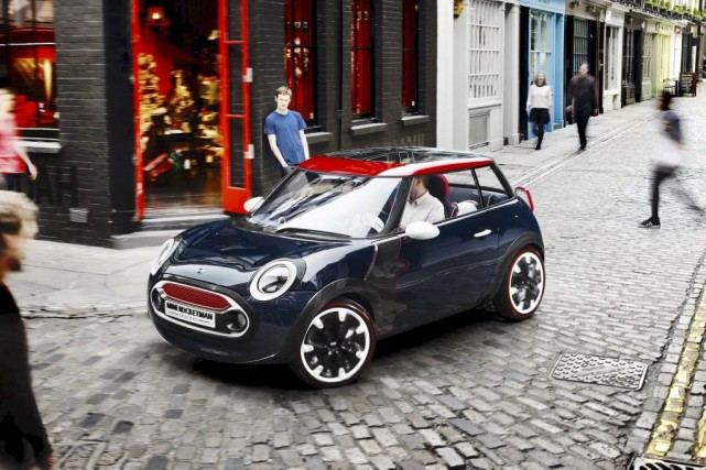 Le prototype Mini Rocketman... (Photo fournie par Mini)
