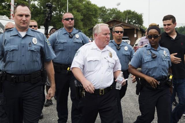 Le chef de la police de Ferguson Thomas... (PHOTO LUCAS JACKSON,  ARCHIVES REUTERS)