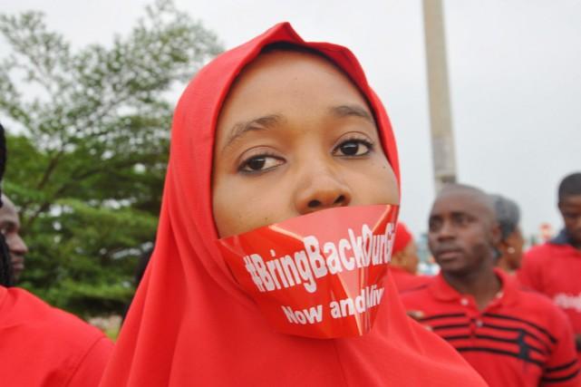 L'enlèvement de 276 écolières à Chibok le 14... (PHOTO OLAMIKAN GBEMIGA, ARCHIVES AP)