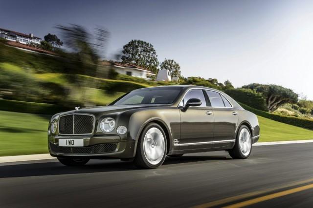 La Bentley Mulsanne Speed... (Photo fournie par Bentley)