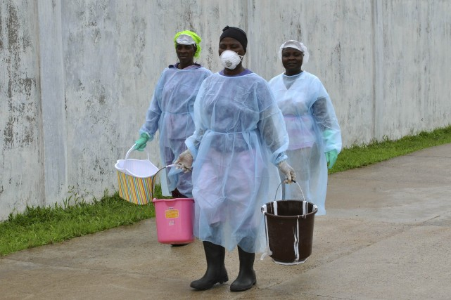 L'ebola a fait près de 3000 morts sur un... (Photo REUTERS)