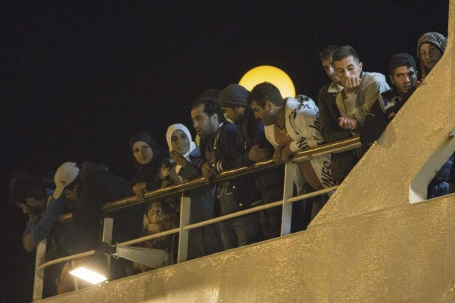 Une passagère chypriote, Chrystalla Eflatsoumis, 66 ans, a... (Photo AFP)