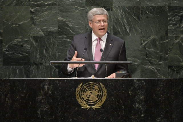 Stephen Harper... (PHOTO ARCHIVES LA PRESSE CANADIENNE)
