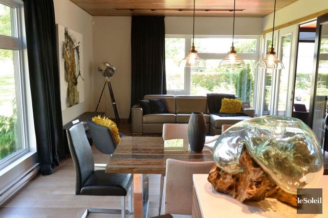 Carpe diem pr sent au centre de foires un projet pour for Amorce maison pour carpe