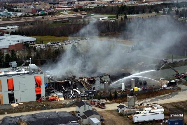 La nouvelle usine remplace une usine qui a... (Photo archives La Voix de l'Est)