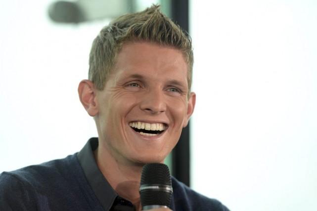 Thomas Morgenstern, triple champion olympique et double vainqueur... (Photo Kerstin Joensson, AP)