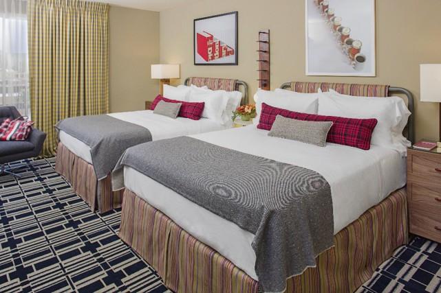 Une chambre de l'hôtel Graduate de Madison, aux... (Photo fournie par Graduate)