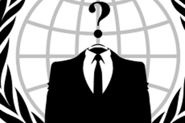 Le message d'Anonymous vise, sans les nommer, les... (IMAGE WIKIMÉDIA)