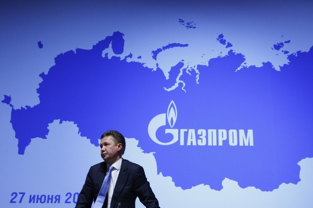 Alexei Miller, PDG de Gazprom... (Photo archives Reuters)