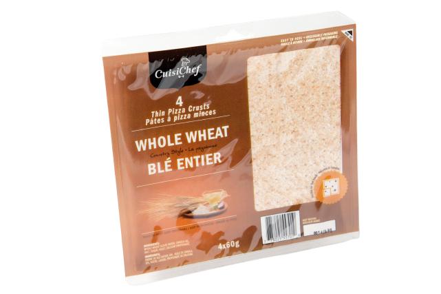 Ce produit de marque CuisiChef ne contient que sept ingrédients: farine de blé...