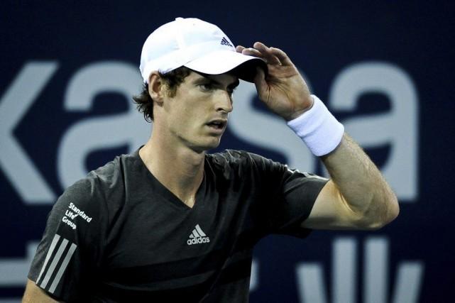 Samedi, Andy Murray affrontera en demi-finale l'Argentin Juan... (Photo AFP)
