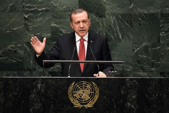 Le président turc Recep Tayyip Erdogan... (Photo Jewel Samad, AFP)