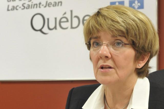 Martine Couture devient la première présidente-directrice générale du... ((Photo Michel Tremblay))