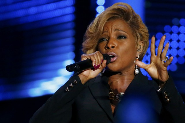 Mary J. Blige... (Photo: archives Reuters)