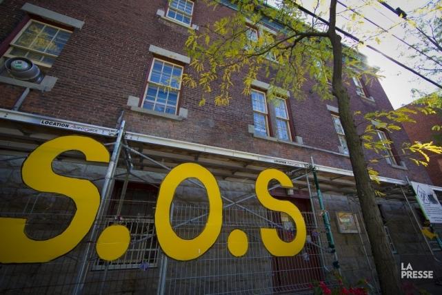 Ce centre d'éducation populaire de Pointe-Saint-Charles, à Montréal,... (PHOTO ANDRÉ PICHETTE, LA PRESSE)