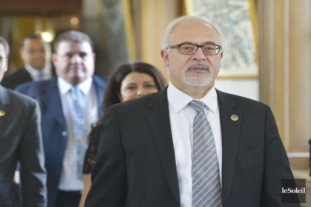 Le ministre des Finances du Québec, Carlos Leitao.... (Photo Jean-Marie Villeneuve, archives Le Soleil)