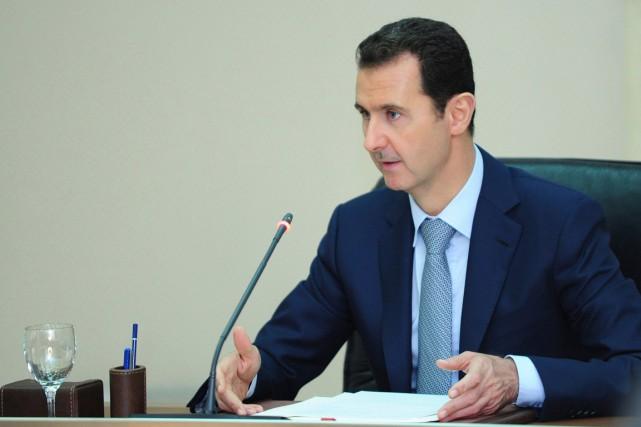 Le président syrienBachar al-Assad.... (PHOTO ARCHIVES REUTERS)