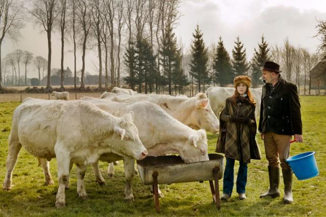 Isabelle Huppert et Jean-Pierre Darroussin sont convaincants en... (Photo fournie par les films Métropole)