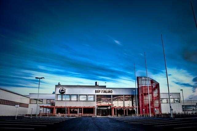 L'usine ultramoderne de BRP à Rovaniemi, au pôle... (PHOTO FLICKR/RISTINOLLA)