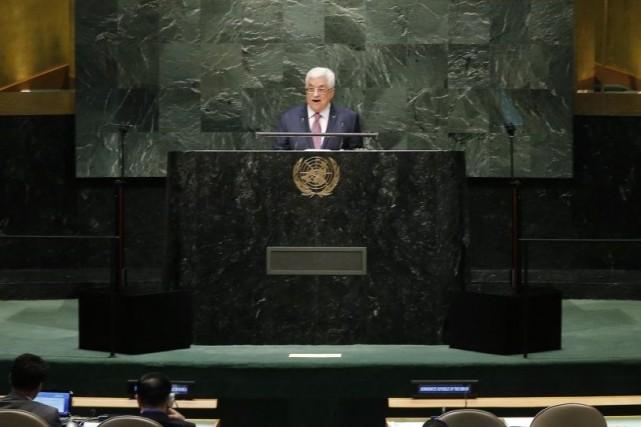 Les États-Unis ont fustigé vendredi le discours prononcé à la tribune de l'ONU... (Photo Reuters)