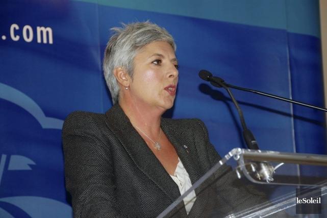 Denise Verreault souhaite agrandir le chantier naval du... (PHOTO JOHANNE FOURNIER, COLLABORATION SPÉCIALE, LE SOLEIL)