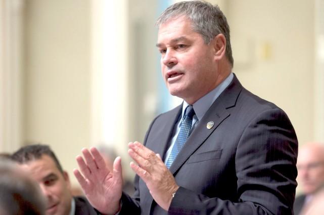 Le ministre de l'Éducation, Yves Bolduc, a confirmé... (La Presse Canadienne, Jacques Boissinot)