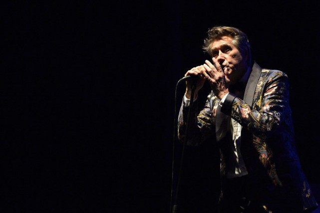 Bryan Ferry a fêté son 69e anniversaire au... (Photo Charles Laberge, collaboration spéciale)