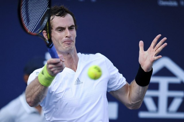 Andy Murray... (Photo AFP)