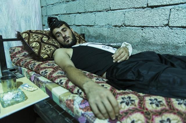 Khaled Mrad Psi récupère de ses blessures après... (PHOTO ANDREW W. NUNN, COLLABORATION SPÉCIALE)