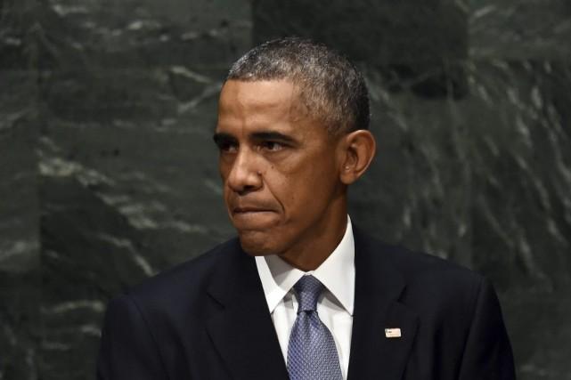 «Le leadership américain est la seule constante dans... (PHOTO JEWEL SAMAD, AFP)