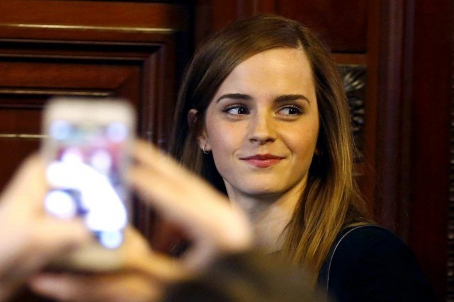 Emma Watson... (Photo Andres Stapff, Reuters)
