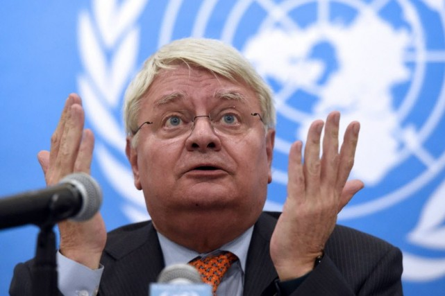 Le patron des opérations de maintien de la... (PHOTO ISSOUF SANOGO, Archives AFP)