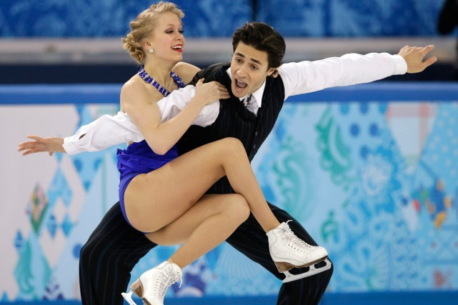 Kaitlyn Weaver et Andrew Poje... (PHOTO ARCHIVES ASSOCIATED PRESS)