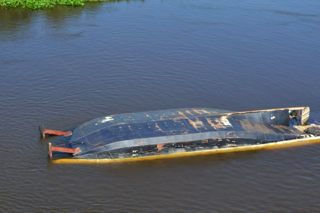 La plupart des victimes sont des touristes brésiliens... (PHOTO MARINHA DO, AFP)