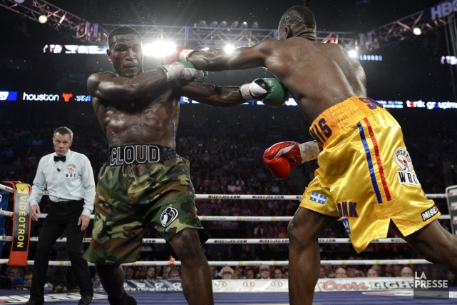 Le 28 septembre 2013, le boxeur québécois Adonis... (Bernard Brault, Archives La Presse)