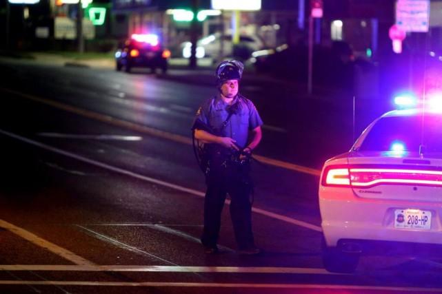 La mort d'un Noir non armé de 18... (Photo David Carson, AP)
