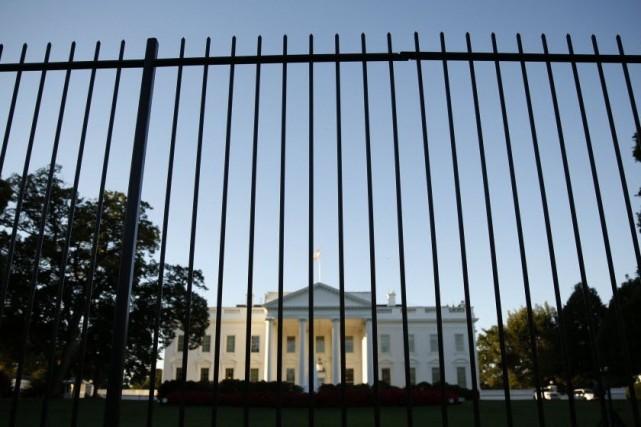 le secret service a mal r 233 agi lors d une attaque 224 la maison blanche 201 tats unis