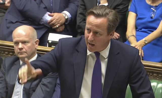 Le premier ministre britannique David Cameron... (Photo Reuters)