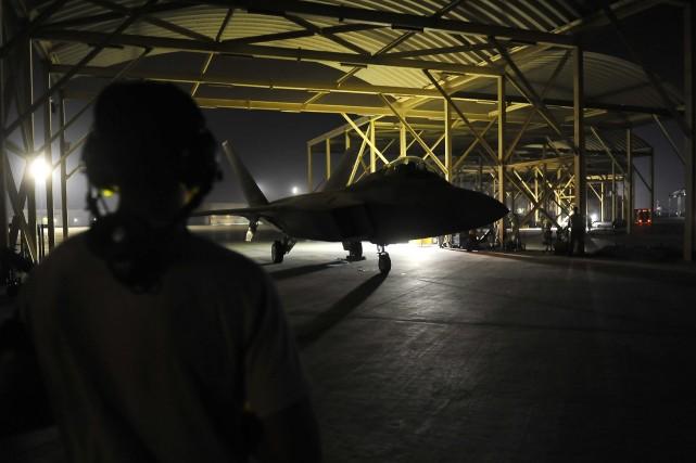La Turquie a autorisé les États-Unis à utiliser ses bases aériennes, en... (Photo Russ Scalf, AP)