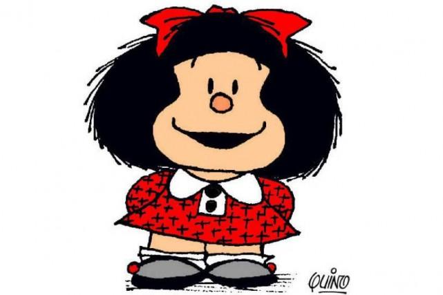 Avec un humour subtil, Mafalda s'interroge sur les... (Photo d'archives)