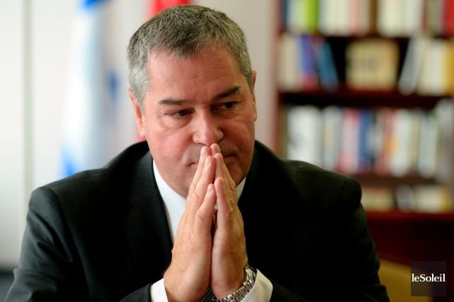 Yves Bolduc, ministre de l'Éducation... (Photothèque Le Soleil, Erick Labbé)