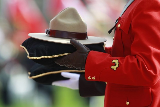 L'agent de la Gendarmerie royale du Canada (GRC) qui a défrayé les manchettes... (PHOTO BLAIR GABLE, REUTERS)