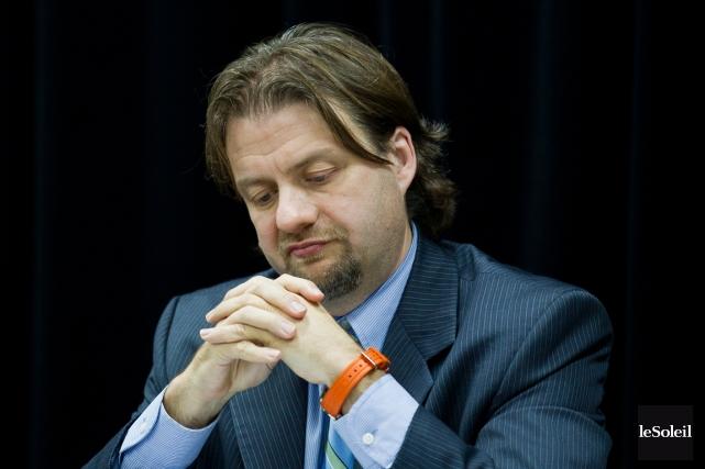 Depuis 2009, Pierre-Luc Paquetteoccupait la fonction de vice-président,... (Photothèque Le Soleil)