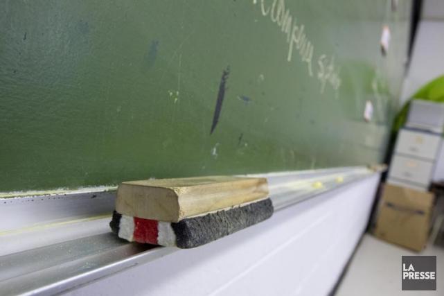 Pour l'heure, les commissions scolaires ne peuvent fournir... (PHOTO ALAIN ROBERGE, ARCHIVES LA PRESSE)