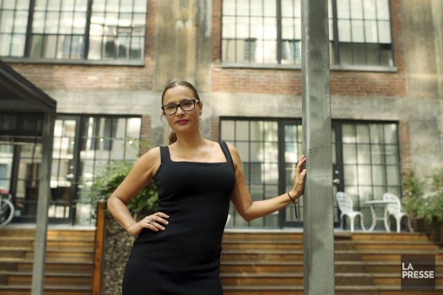 Anne-MarieLosiquea conclu une entente avec Vivid, géant américain... (PHOTO LA PRESSE)
