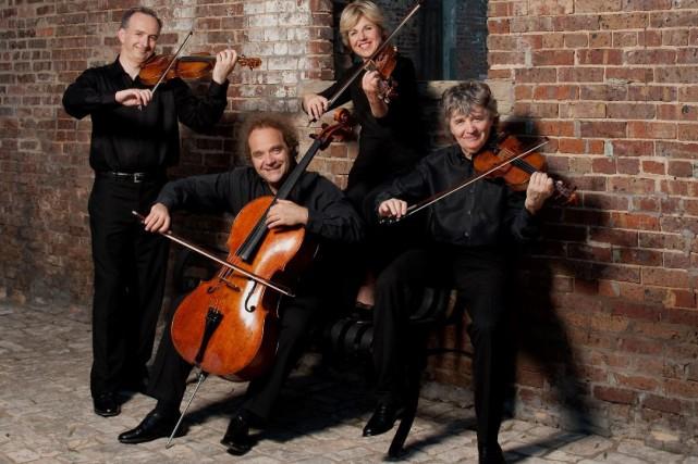 Le Quatuor Takács... (Photo: fournie par le Quatuor Takács)